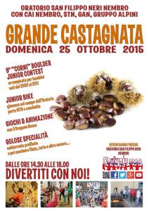 Castagnata 2015 - manifesto