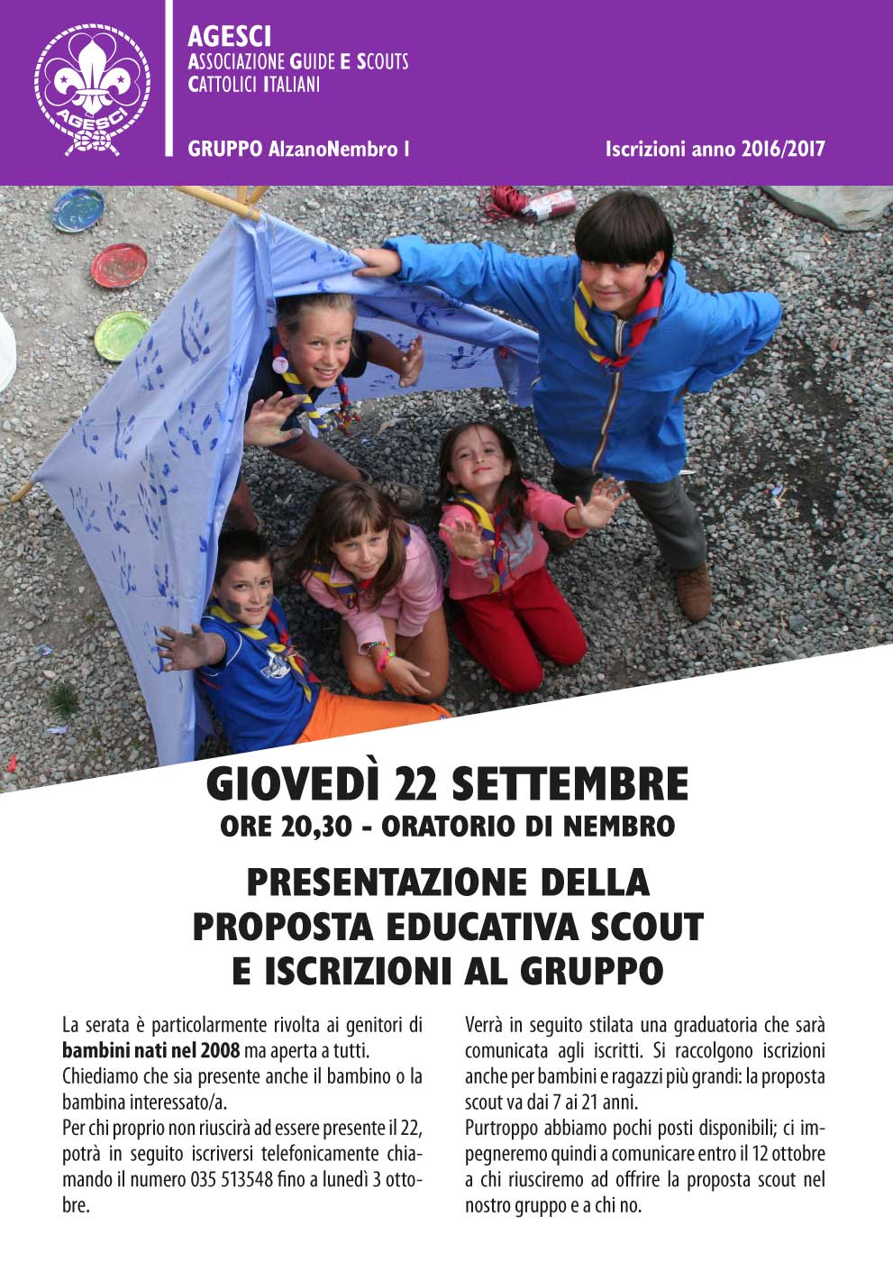 Open Day Scout