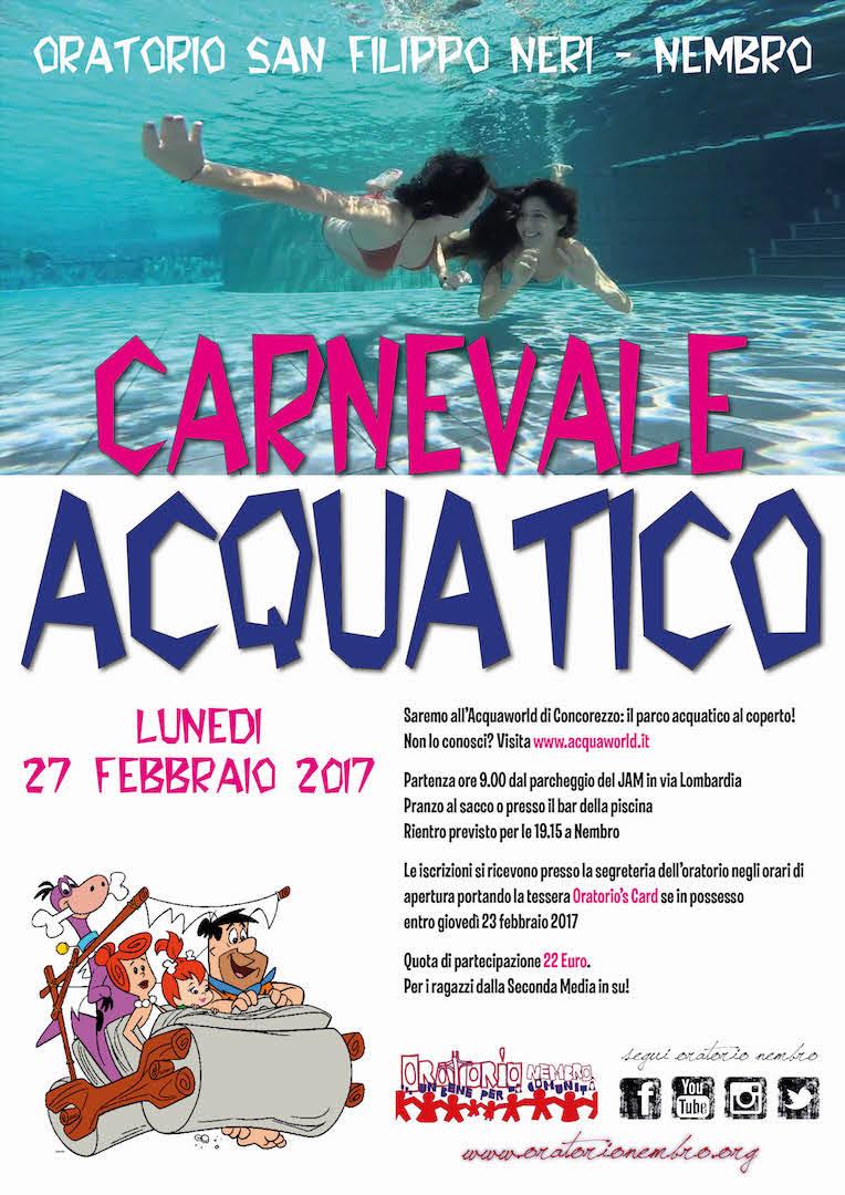 Carnevale Acquatico 2017