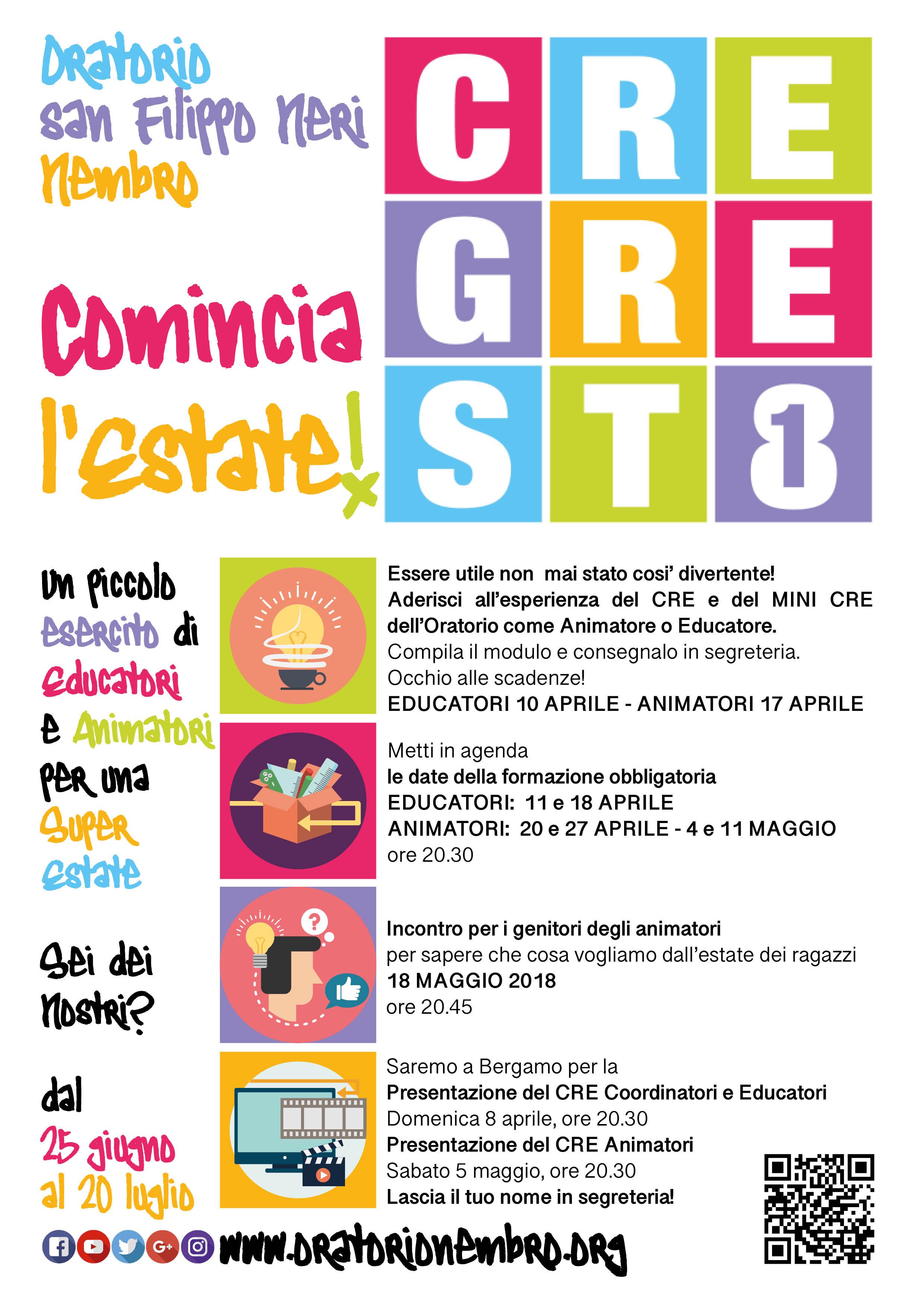 CRE 2018 - Si cominicia
