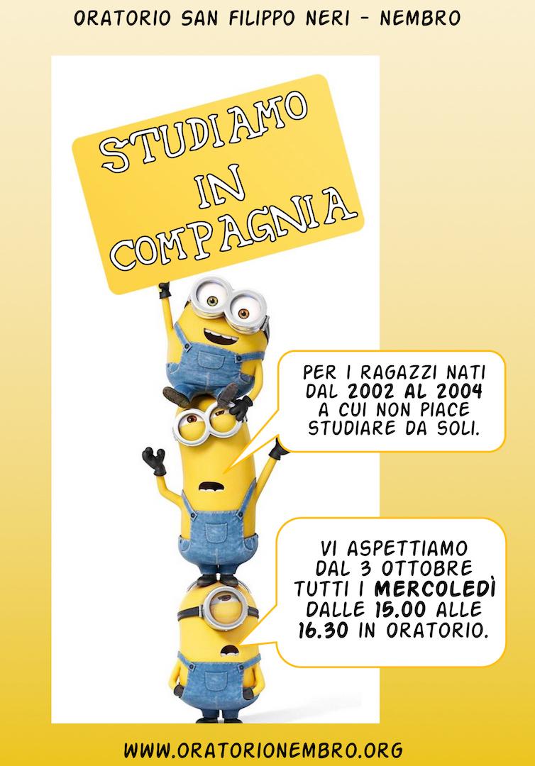 Studiamo in Compagnia 2018 edition