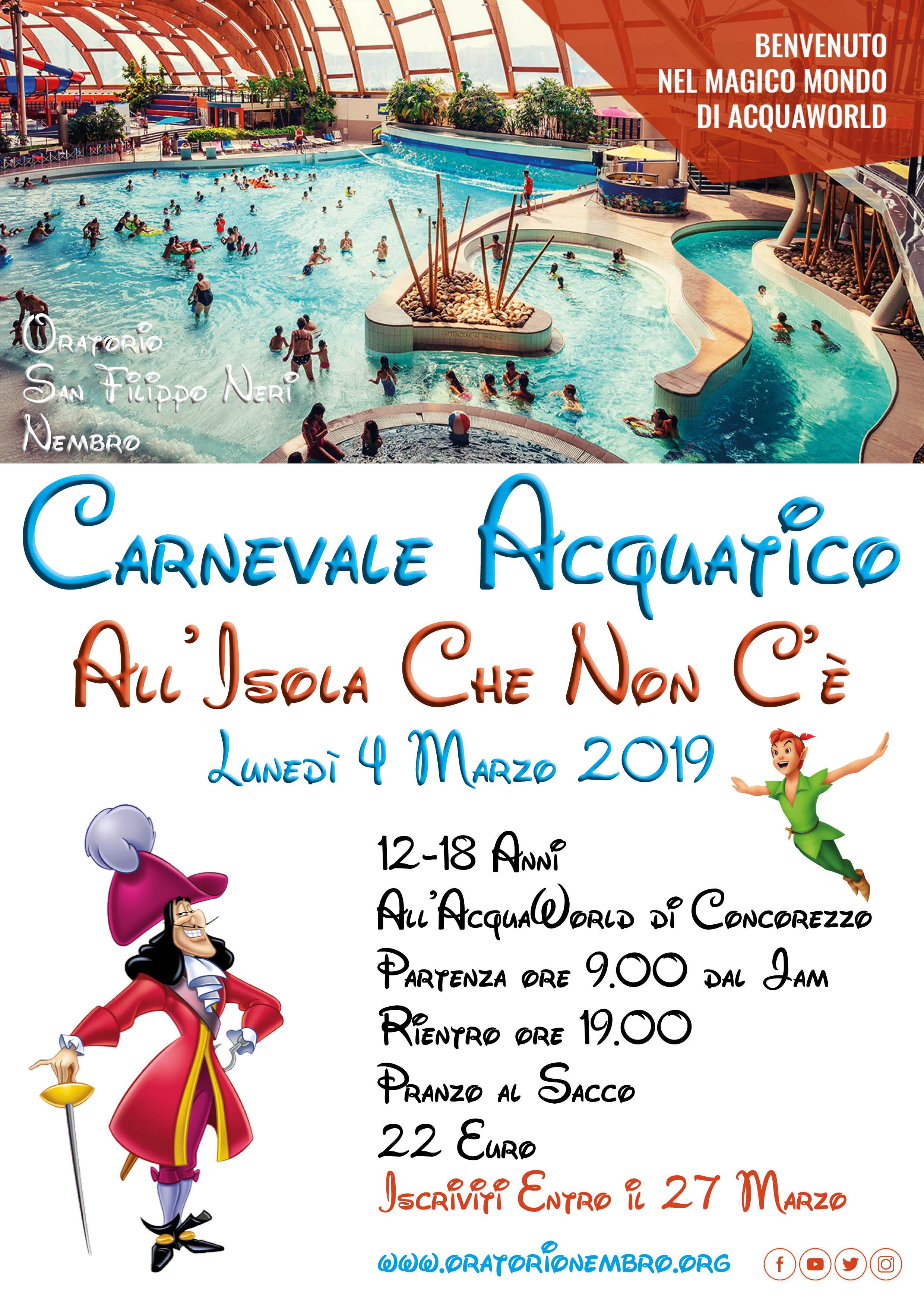 Carnevale Acquatico 2019