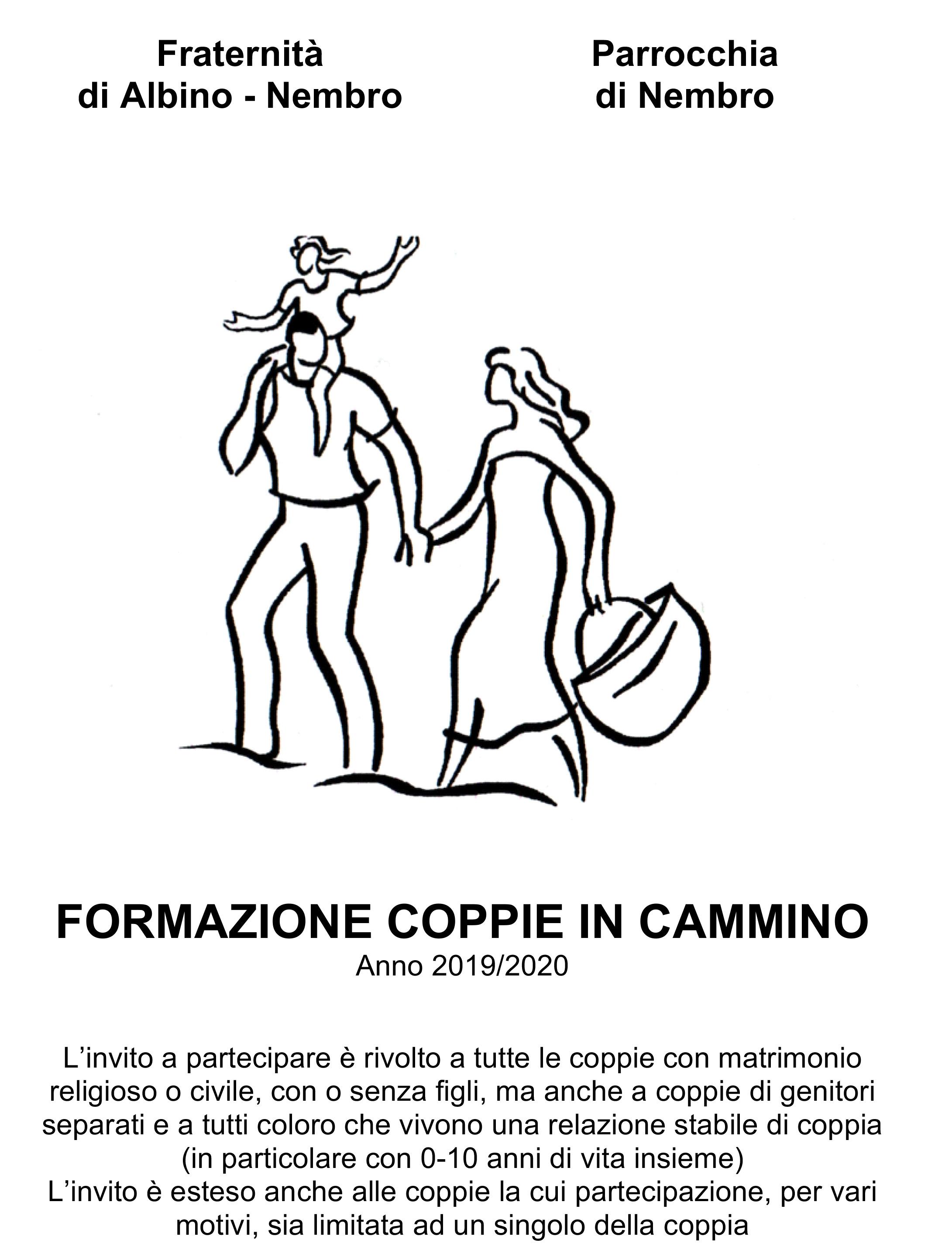 Coppie in Cammino 2019/2020